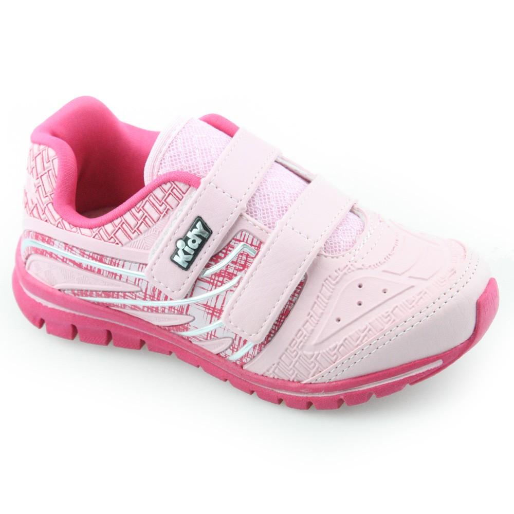 046507e2e16 Tenis Infantil Kidy Mais 16811049400 Rosa-azaleia
