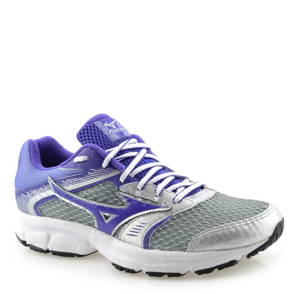 d33714450 Tênis Mizuno Strike N Prata Roxo | Godiva Calçados