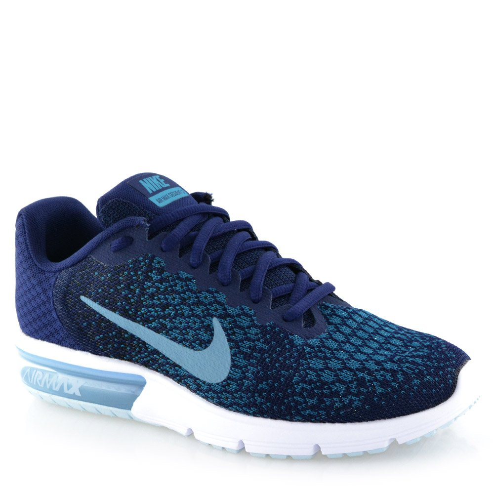3952c9bada Tenis Nike Air Max Sequent 2 852461 Azul