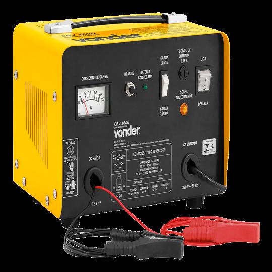 Carregador de Bateria 12A CBV1600 Vonder 220V