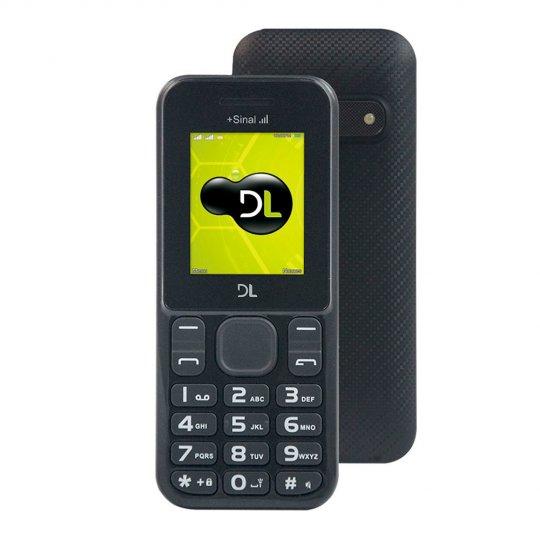 Celular DL YC-210 Preto