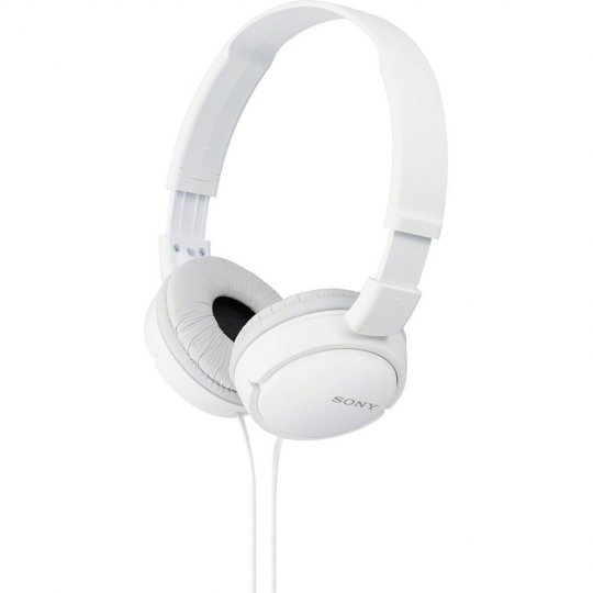 Fone de Ouvido Sony Headphone MDR-ZX110 Branco