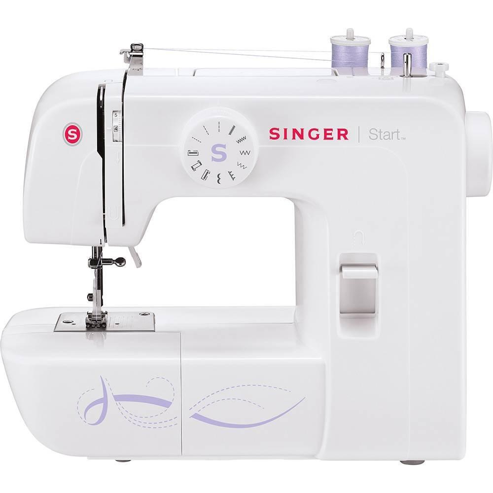 Máquina de Costura Start 1306 Singer Branco 220V