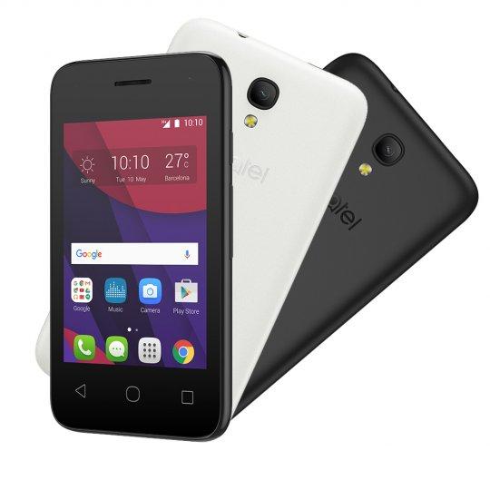 Smartphone Alcatel PIXI4 3.5 OT4017 Preto/Branco Reembalado