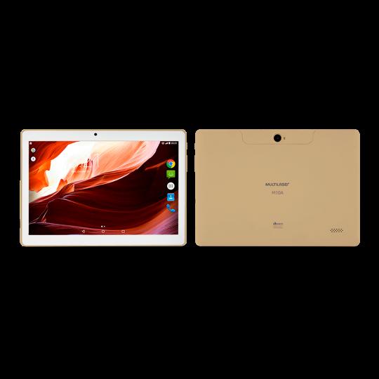Tablet M10A 3G NB277 Multilaser Dourado