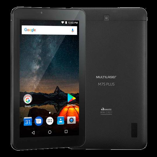 Tablet MS7 Plus NB273 Multilaser Preto