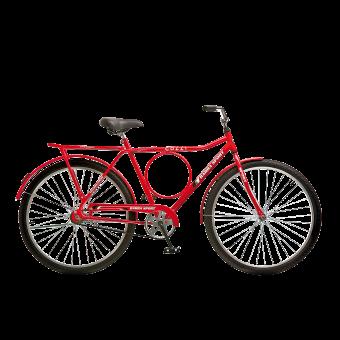 Bicicleta Barra Sport Aro 26 Colli Vermelho
