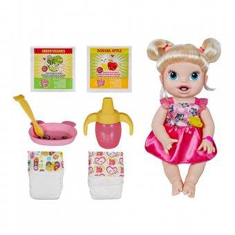 Boneca Baby Alive Hora de Comer Hasbro A7022
