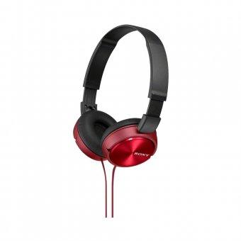 Fone de Ouvido Sony Headphone com Microfone integrado MDR-ZX310AP Vermelho