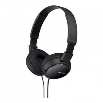 Fone de Ouvido Sony Headphone MDR-ZX110 Preto