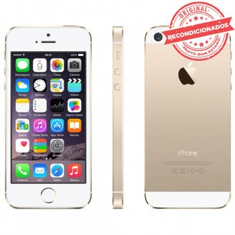 Imagem - iPhone 5S Dourado 32GB Apple Recondicionado