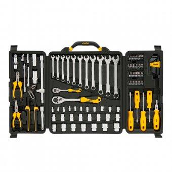 Jogo de ferramentas com 110 peças Vonder