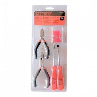Kit de ferramentas 24 peças BD80332-840 Black+Decker