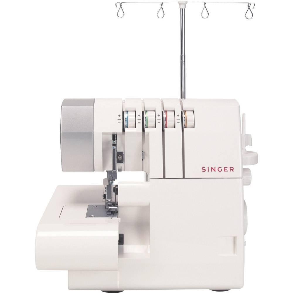 Máquina de Costura Ultralock 14SH754 Singer Branco 220V