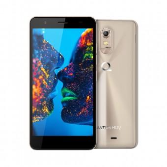 Smartphone Quantum MÜV 16GB Dourado 4G