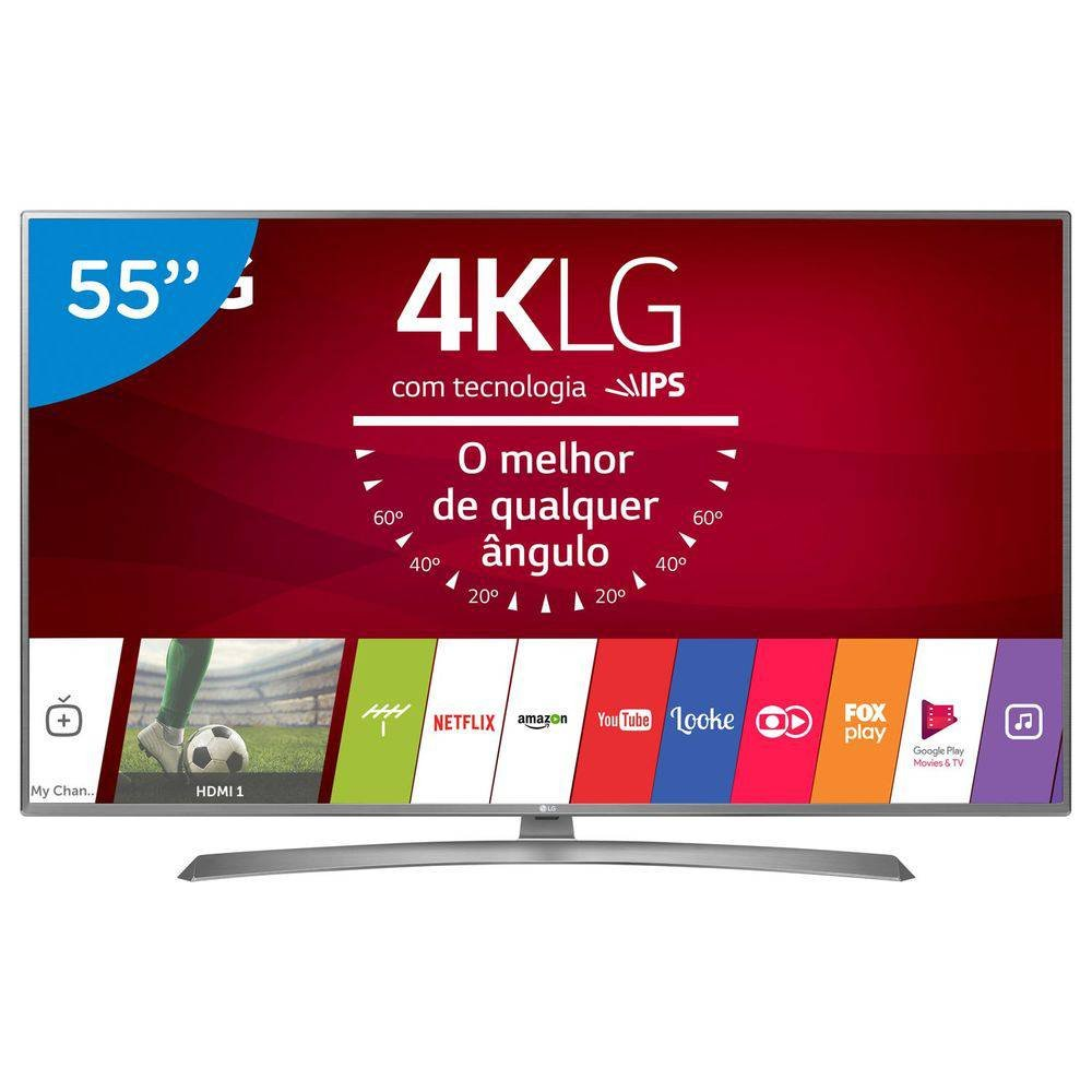 Imagem - Smart TV LED 55 UHD 4K LG 55UJ6585