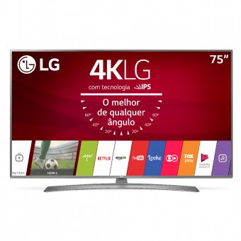 Smart TV LG 4K 75'' 75UJ6585