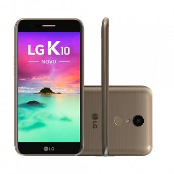 Smartphone LG K10 Novo M250DS Dourado