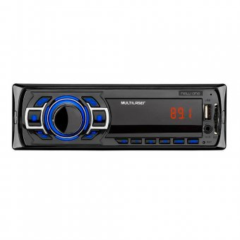 Som Automotivo Multilaser Rádio FM Entradas USB SD P3318