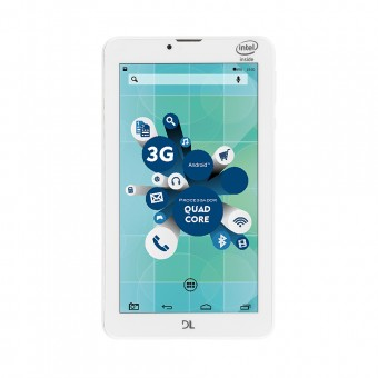 Tablet DL Social Phone 700 Dual Chip 3G TX316 Branco