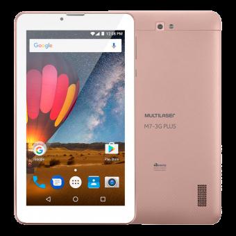 Tablet M7 Plus 3G NB271 Multilaser Rose Gold
