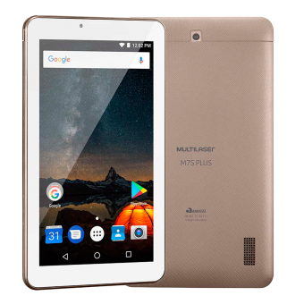 Tablet MS7 Plus NB276 Multilaser Dourado