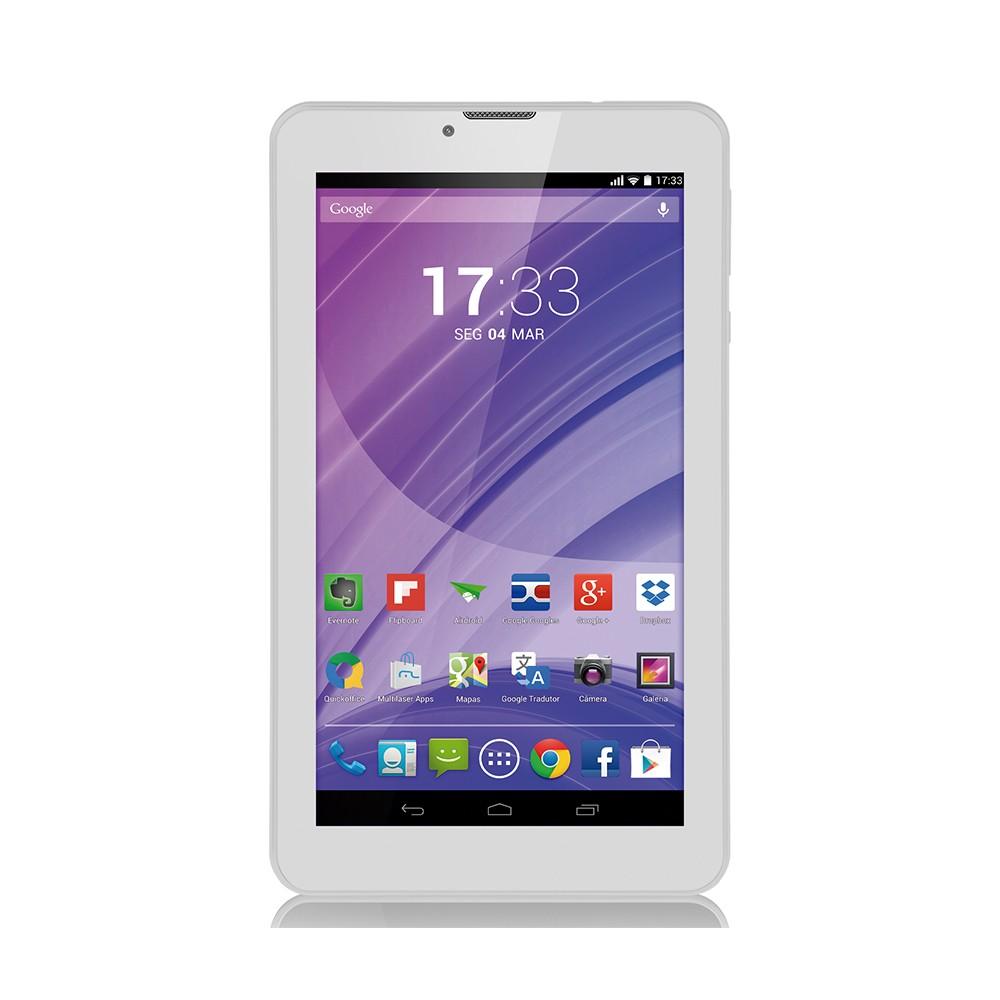 Tablet Multilaser M7 3G Quad-Core NB224 Branco