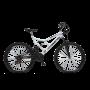 Bicicleta Dupla Suspensão Aro 26 Colli Branco