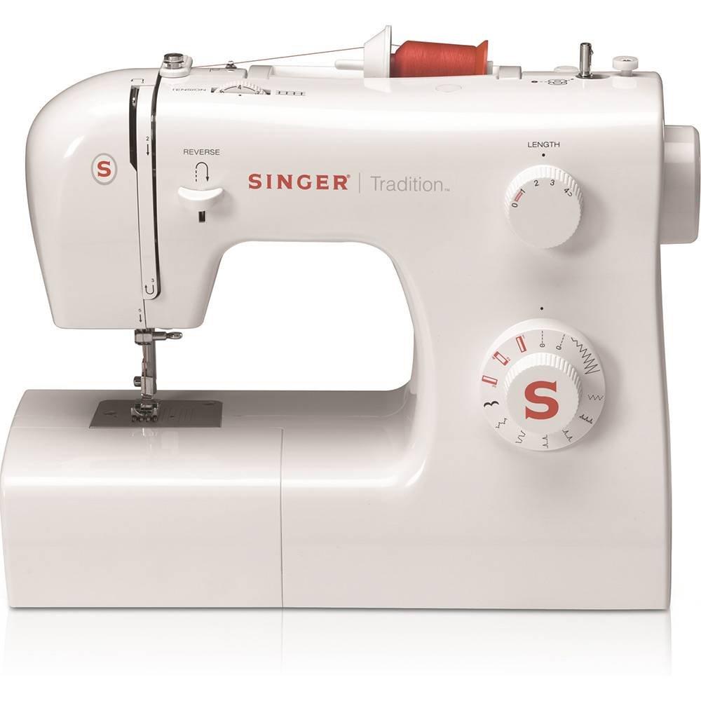Máquina de Costura Tradition 2250 Singer Branca 220V