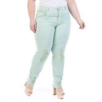 KIT 10 Calças Jeans Feminina Plus Size