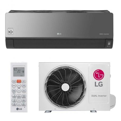 Ar Condicionado Split Dual Inverter LG Art Cool 12000 BTUs Quente e Frio 220V
