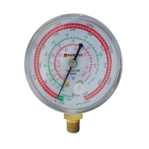 Manômetro de Alta Suryha R22-R134-R404