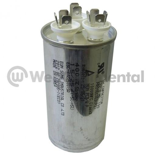 Capacitor 25+1,5UF 450V LG
