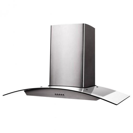 Coifa de Parede Cadence Gourmet 90cm Vidro Inox 127V - CFA390