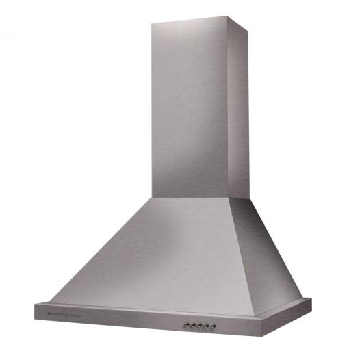 Coifa Parede Cadence Gourmet Piramidal 60cm Inox 127v