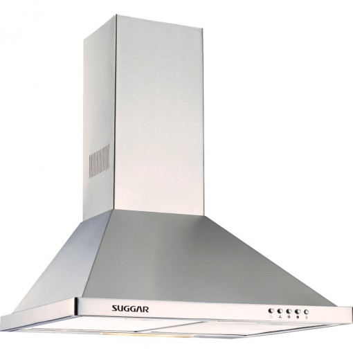 Coifa Parede Suggar Topazio Piramidal 60 cm Inox 220v