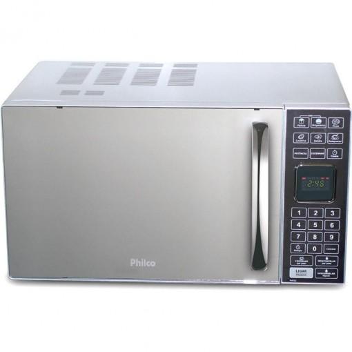 Micro-ondas 25L Prata Espelhado Philco 220V PME25