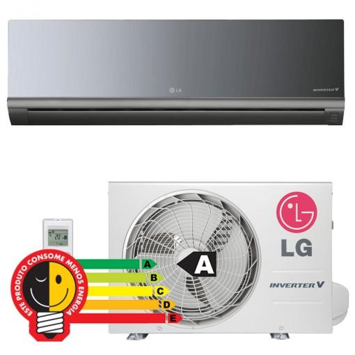Ar Split LG Art Cool Inverter 12000 BTU Quente e Frio