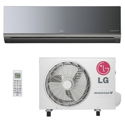 Ar Split LG Art Cool Inverter 8500 BTU Quente e Frio 220v