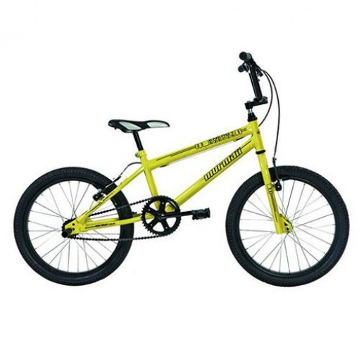 Bicicleta Cross Energy Aro 20 Amarelo Mormaii