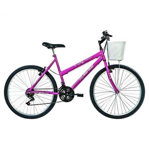 Bicicleta Fantasy 18V Aro 26 Rosa Mormaii