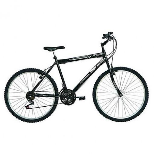 Bicicleta Jaws 18V Aro 26 Preto Mormaii
