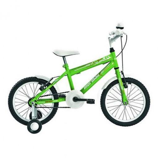 Bicicleta Infantil Top Lip Aro 16 Verde Mormaii