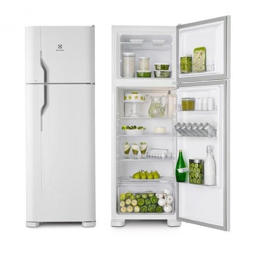 Refrigerador Cycle Defrost 362L Branca 2 Portas Electrolux 127V DC44