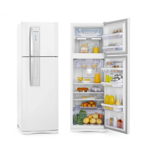 Refrigerador Electrolux Duplex Frost Free Branco 382L 220V DF42