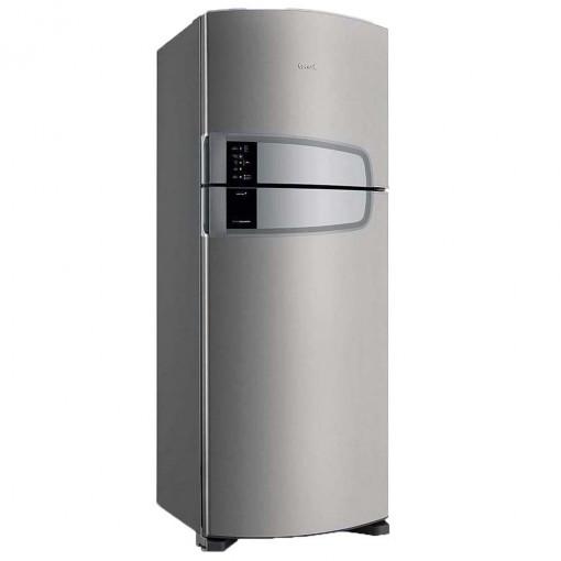 Refrigerador Consul Duplex Bem Estar Frost Free Inox 405L 220V CRM51AK