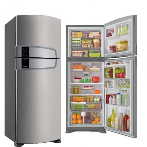 Refrigerador Consul Bem Estar Frost Free Evox Platinum 437L 220V CRM55AK