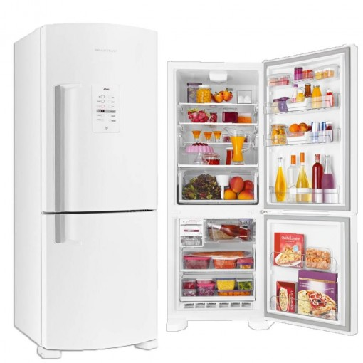 Refrigerador Brastemp Duplex Inverse FF Branco 422L 110V