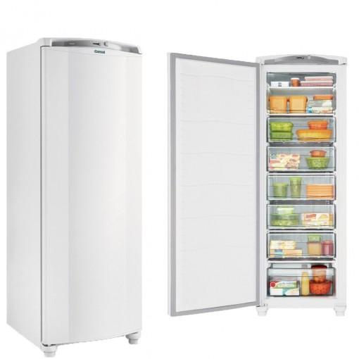 Freezer Consul 1 Porta Vertical 246L Branco Defrost 220V
