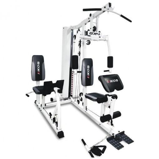 Estação de Musculação Kikos com Leg Press GX4